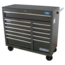 "Pro Elite Rolling 41.5"" Wide 12 Drawer Bottom Cabinet"