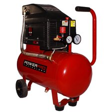 6 Gallon Horizontal Tank Oil Lubed Air Compressor