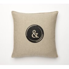 Fine Linen Typewriter Pillow