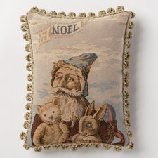 <strong>Corona Decor</strong> Holiday Whimsy Noel Santa Pillow