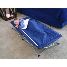 My Cot with Deluxe Sleeping Bag