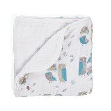 Organic Wise Guys Dream Cotton Blanket