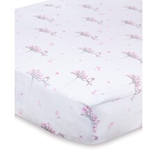 <strong>aden + anais</strong> Muslin Fitted Crib Sheet