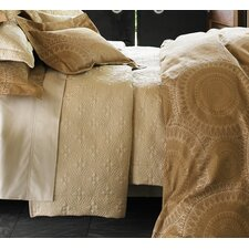 <strong>Peacock Alley</strong> Lucia Egyptian Cotton Coverlet