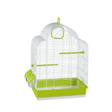 Alicia Bird Cage in White
