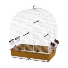Paula Bird Cage in White