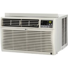 24,500 BTU Energy Efficient Window-Mounted Air Conditioner with Remote Control (230 volts)