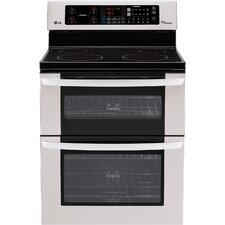 "30"" Freestanding 3-Element Electric Range with Double Oven"