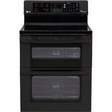 "<strong>LG</strong> 30"" Freestanding 4-Element Electric Range with Double Oven"