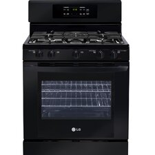 "30"" Freestanding 5-Burner Gas Range with SuperBoil"