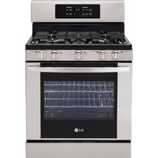 5.4 Cu. Ft. Gas Free-standing Range with Super Boil and 5-Burner