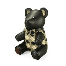 Classic Flower Bear Bookend