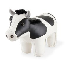 Classic Holstein Cow Bookend