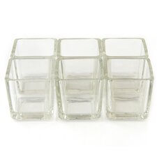 Square Glass Votive Holder