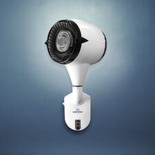 "Misting Aviator 15"" Oscillating Wall Fan"