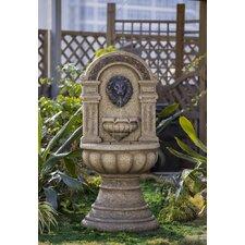 Classic Polyresin and Fiberglass Lion Head Fountain