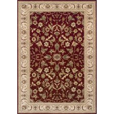 Royal Classic Red Contemporary Rug