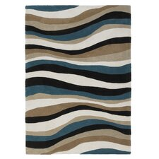 Aspire Blue Tufted Rug