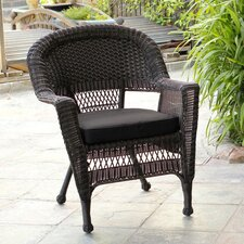 <strong>Wicker Lane</strong> Lounge Chair with Cushion (Set of 4)