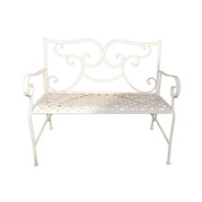 Camilla Series Metal Garden Bench