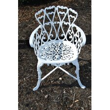 Heart Dining Arm Chair