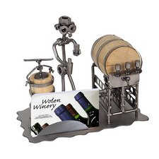 Wine Taster Business Card Holder