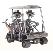 Golf Cart Sculpture