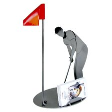 Desk Accessory Golf Putting Business Card Holder