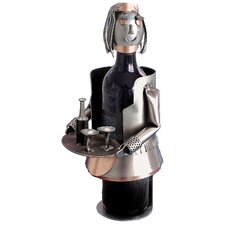 <strong>H & K SCULPTURES</strong> French Maid Wine Caddy