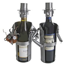 Groom / Groom Wine Bottle Holder