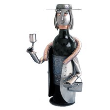 <strong>H & K SCULPTURES</strong> Sophisticated Lady Wine Caddy