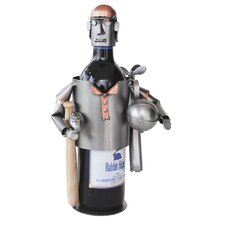 <strong>H & K SCULPTURES</strong> Sports Fanatic Wine Caddy