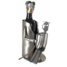 Dentist with Patient Wine Caddy
