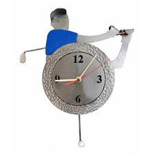 <strong>H & K SCULPTURES</strong> Golf Table Clock