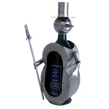 Snowman Wine Caddy