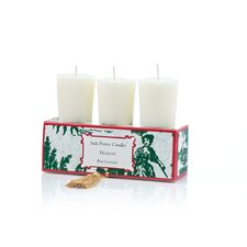 <strong>Seda France</strong> Classic Toile Holiday Votive Candle Set
