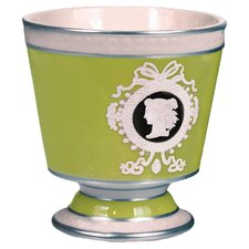 Cameo Patina Ceramic 2-Wick Candle