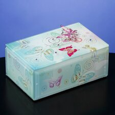 Butterfly Jewels Music Jewelry Box