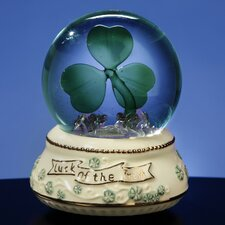Shamrock Lighted Water Globe