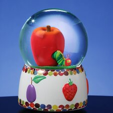 <strong>San Francisco Music Box</strong> The Very Hungry Caterpillar Apple Water Globe