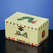 The Very Hungry Caterpillar Musical Treasure Jewelry Box