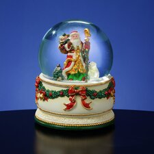 <strong>San Francisco Music Box</strong> Holiday Treasures Christmas Journey Snow Globe