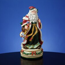 Holiday Treasures Father Christmas Figurine