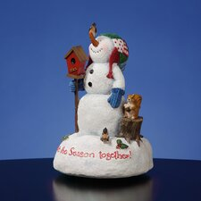 """Celebrate the Season Together"" Figurine"
