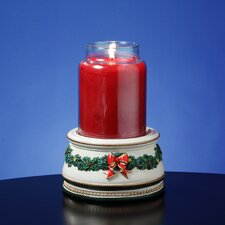 <strong>San Francisco Music Box</strong> Holiday Treasures Musical Jar Candle Holder