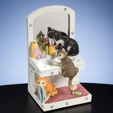 Kitty Bath Time Figurine