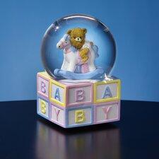Baby Rocking Horse Water Globe