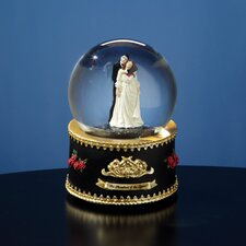 Phantom and Christine Rotating Water Globe