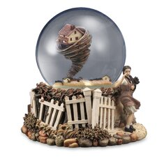 The Wizard of Oz Tornado Water Globe Sculpture