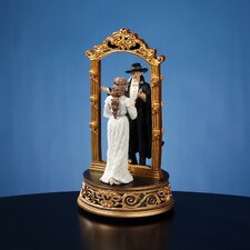 Phantom of the Opera Phantom and Christine Mirror Figurine